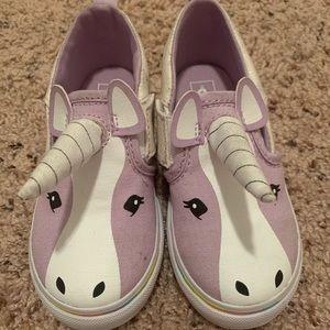 Vans unicorn toddler shoes size 9